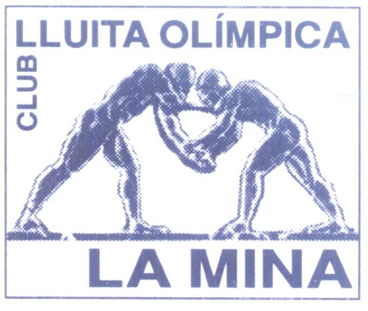 Escudo del Club de Lluita Olímpica La Mina