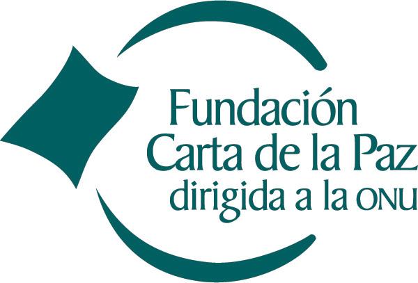 Logo Fundación Carta de la Paz en castellano