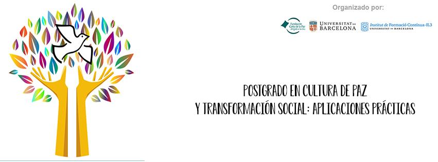 12a edición postgrado en cultura de paz y transformación sociall