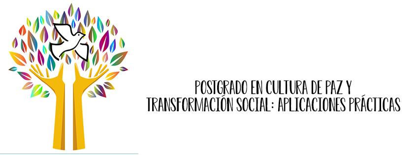 Postgrado en cultura de paz y transformación social
