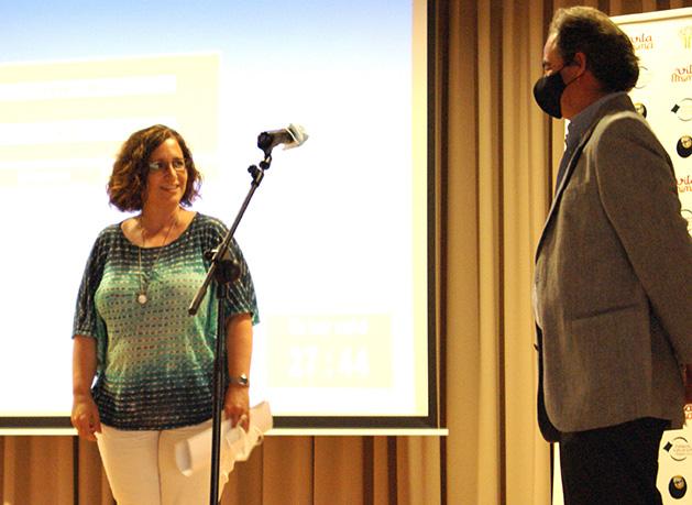 diputada de Tarragona Silvia Puerto en l'acte del Programa Vitamina